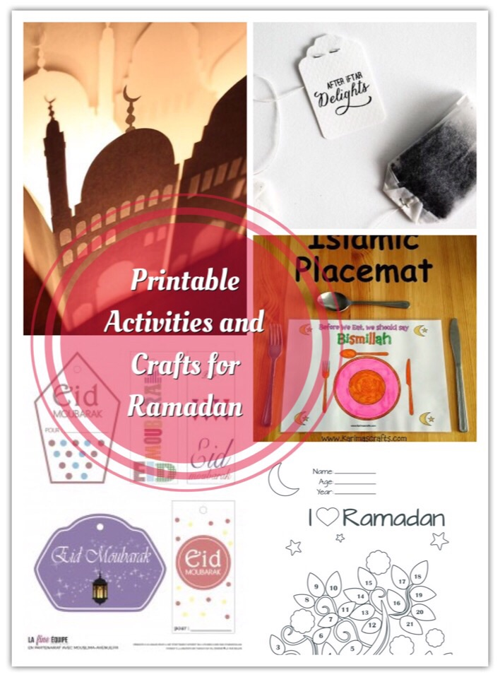 The Best Printable Activities and Crafts For Ramadan